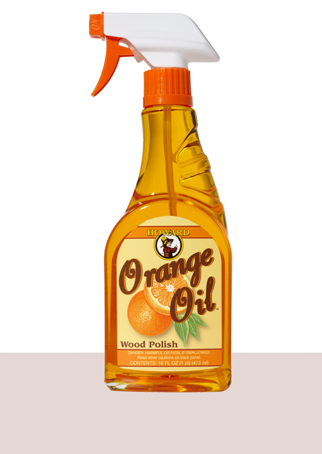 Howard Orange Oil Wood Polish #ORS016, 16 oz - Pack of 2 - AutoCareParts.com
