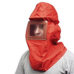 Canvas Sand Blast Hood w/ Hard Hat