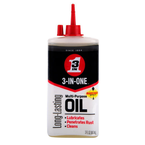 3-In-One Multi-Purpose Oil #10135, 3 Oz - AutoCareParts.com
