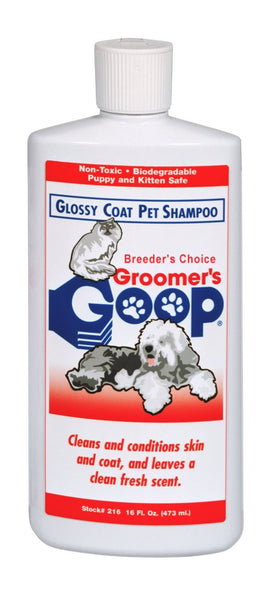 Glossy Coat Pet Shampoo 16 oz