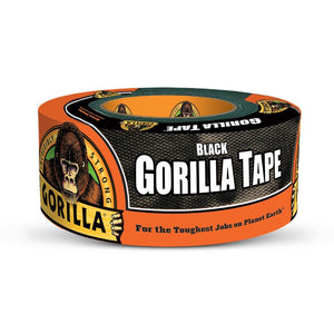 "Gorilla Glue Black Tape #6003001, 2.88"" x 30 yd - AutoCareParts.com"