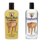 Howard Butcher Block Conditioner #BBC012, 12 oz and Cutting Board Oil, 12 oz - AutoCareParts.com