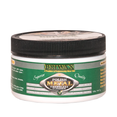 Briwax Metal Polish, 5 oz - AutoCareParts.com