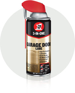 3-IN-ONE Professional Garage Door Lube Smart Straw Spray #100581, 11 oz - Pack of 3 - AutoCareParts.com