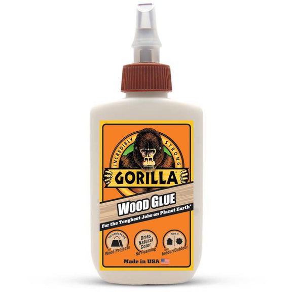 Gorilla Wood Glue #6202001, 4 oz - AutoCareParts.com