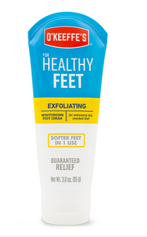 O'Keeffe's Healthy Feet Exfoliating Foot Cream #K0400002, 3 oz - AutoCareParts.com