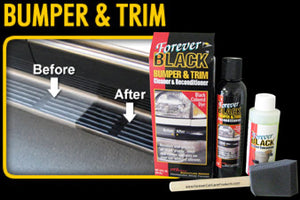 Forever Car Care Black Bumper & Trim Cleaner and Reconditioner Kit #FB010