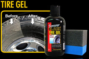 Forever Car Care Black Tire Gel #FB810