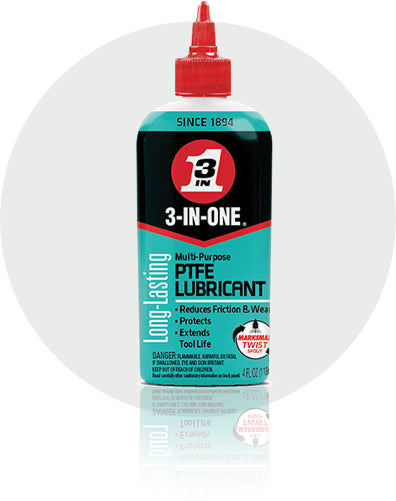 3-In-One Multi-Purpose PTFE Lubricant #120039, 4 Oz - AutoCareParts.com