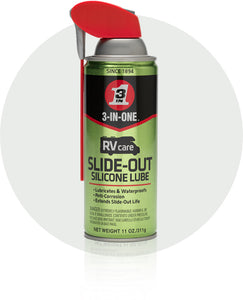 3-In-One RVcare Slide-Out Silicone Lube #120084, 11 Oz - AutoCareParts.com
