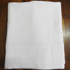 Love For White Quick Dry Waffle Bath Towel