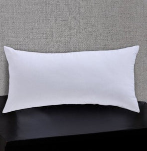 Love For White Lumbar Pillow Filler