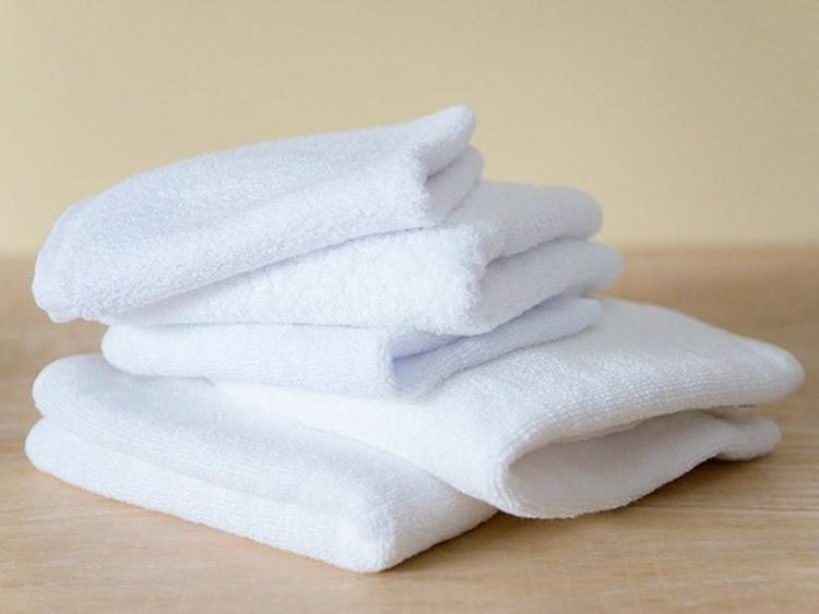 Love For White Face Towels Set Of 5