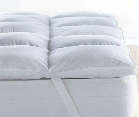 Love for White Mattress Topper - Supersoft Microfiber - King