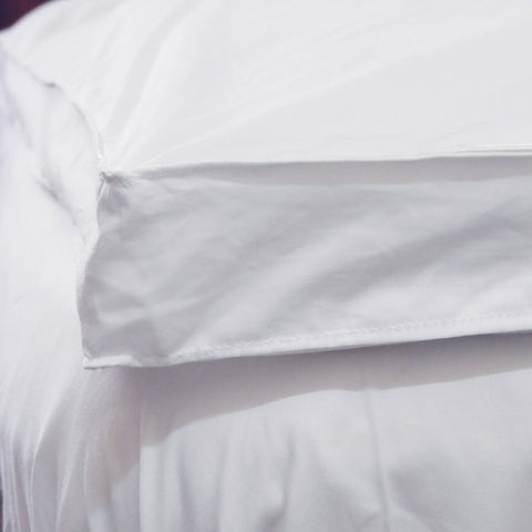 Love for White Mattress Topper - Feather Down Longlast