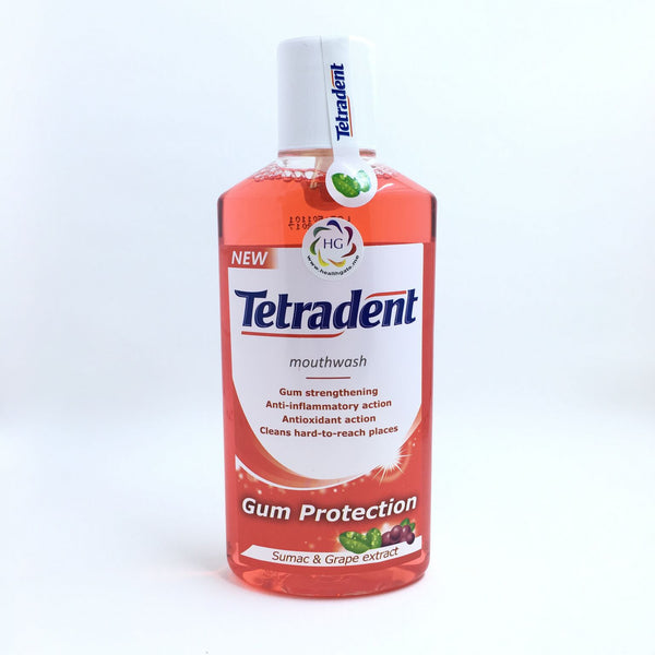 Mouthwash Tetradent Gum Protection