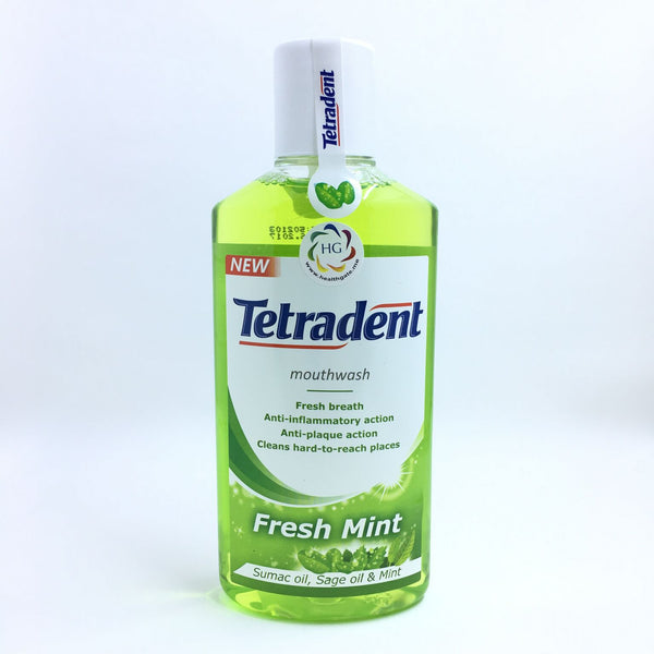 Mouthwash Tetradent Fresh Mint