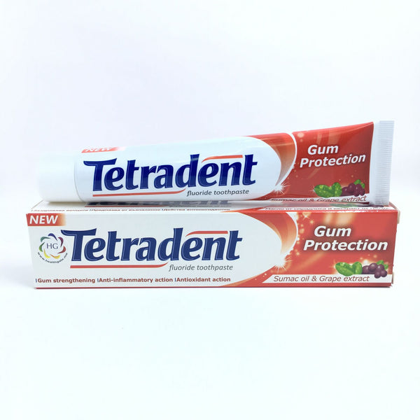 Toothpaste Tetradent Gum Protection
