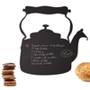 WATER KETTLE CHALKBOARD DECAL / DRY ERASE