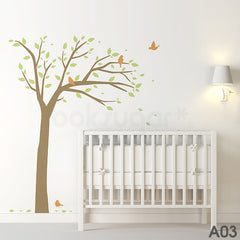 BIRD TREE WALL DECAL