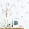 FEATHER PATTERN DECAL