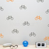 BICYCLYE PATTERN DECAL