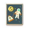 OUTER SPACE NURSERY ART PRINT - ASTRONAUT