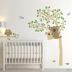 KOALA TREE WALL DECAL
