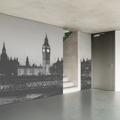 BIG BEN - WESTMINSTER, LONDON WALL MURAL