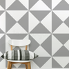 TRIANGLE PATTERN NURSERY WALL STICKERS