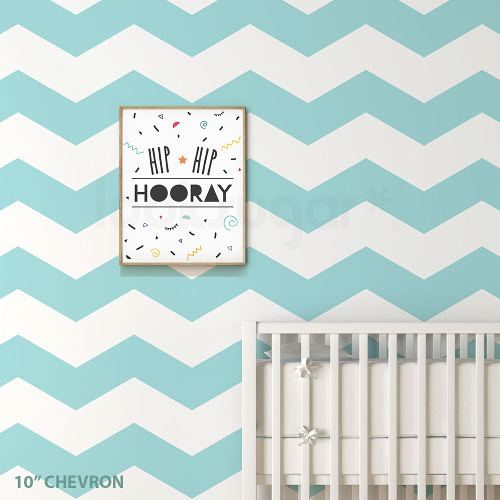 Chevron Wall Decals Looksugar