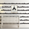 HALF MOON WALL DECALS