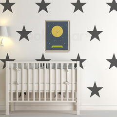 NURSERY WALL DECALS - STARS