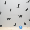 KITTY CAT PATTERN DECALS