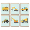 CONSTRUCTION VEHICLE COLLECTION - SET OF 6