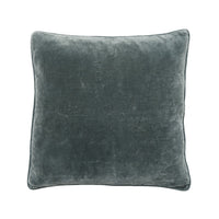 Velvet Cushion with Piping 50cm x 50cm