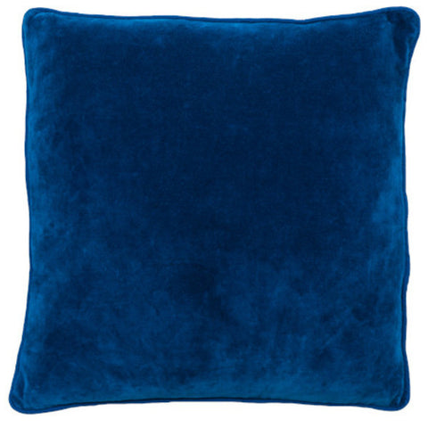 Velvet Cushion with Piping 60cm x 60cm