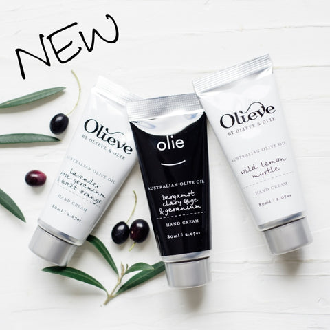 Olieve & Olie Hand Cream 80ml