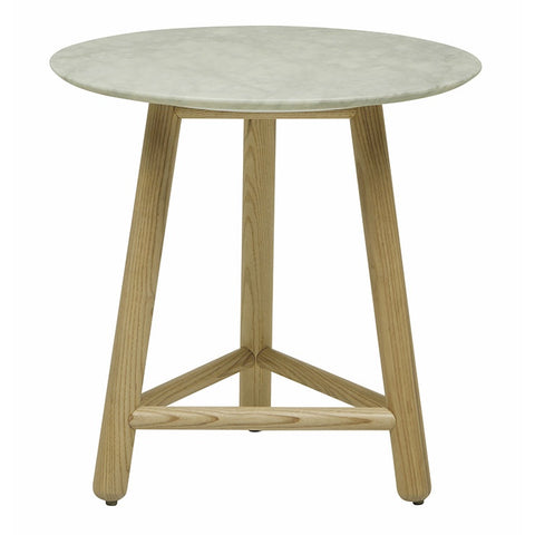 Sloan Round Side Table ( marble)