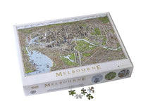 The Melbourne Map Jigsaw