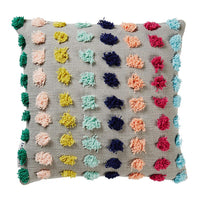 Eva Tufted Pom Pom cushion