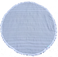Beach Candy Round Towel