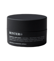Hunter Charcoal Mud Mask