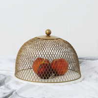 Antique Gold Cloche