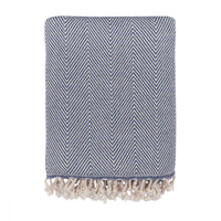 Herringbone Lambswool Throw