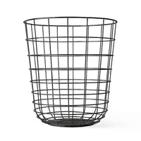 Menu Wire Bin Black