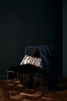 Midnight Navy Manhattan Throw