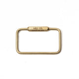 Rectangle Keyring