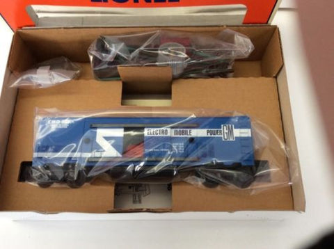 LIONEL 6-19831 3530 EMD GENERATOR CAR SET...MINT IN THE BOX