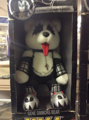 Spencer Gifts KISS Rock Band Bear Limited Collector's ITEM